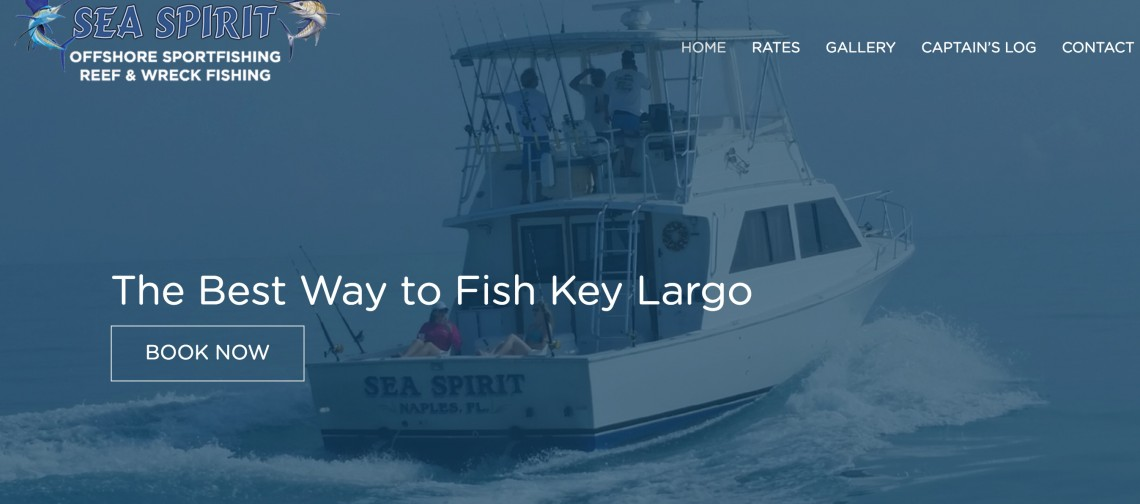 Key Largo Fishing Website